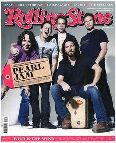 I primi 100 numeri di Rolling Stone. N°81 – Luglio 2010. In copertina @PearlJam
