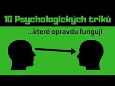 10 PSYCHOLOGICKÝCH TRIKŮ ( Které opravdu FUNGUJÍ ) - YouTube Medical Marijuana, Motto, Good To Know, Karma, Pilates, Life Is Good, Reiki, Fun Facts, Health Fitness