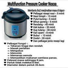 Harga noxxa pressure cooker
