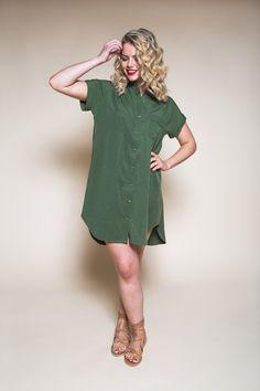 Kalle Shirt-Dress Pattern // Closet Case Patterns