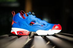 REEBOK PUMP FURY TETRA BLUE/EXCELLENT RED #sneaker