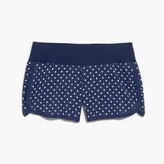 NEW BALANCE® FOR J.CREW POLKA-DOT RUNNING SHORT, fashion, clothing, clothes, style, fall fashion