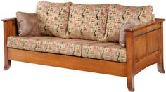 You'll save on every piece of furniture at Amish Outlet Store! We custom make every item, and you can get the Cranberry Sofa in Oak with any wood and stain.