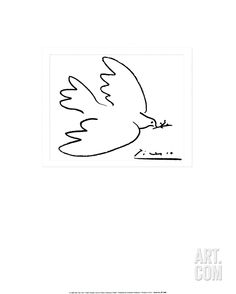 Dove of Peace, by Pablo Picasso