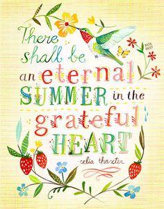 Eternal Summer vertical print por thewheatfield en Etsy