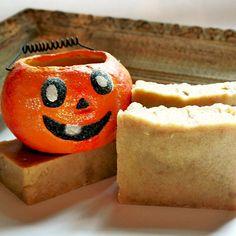 Pumpkin Olive Oil Soap