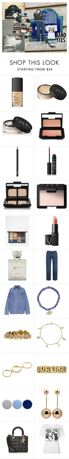 """""""The Men from the Boys"""" by atho-12345 ❤ liked on Polyvore featuring NARS Cosmetics, AlexaChung, Fear of God, Sydney Evan, Eddie Borgo, Jennifer Meyer Jewelry, Elizabeth and James, Gucci, Burberry and J.W. Anderson"""
