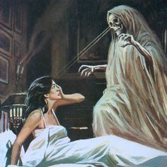 Weird Weird World Arte Horror, Dark Fantasy Art, Dark Art, Vampires, Arte Obscura, Macabre Art, Horror Comics, Creepy Art, Vintage Horror