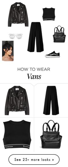 """Без названия #751"" by eleniakhalkatsi on Polyvore featuring Marni, Acne Studios, T By Alexander Wang, Givenchy, Vans and Quay"