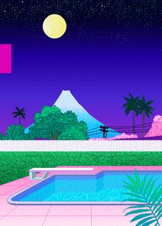Pixelated Palm Springs