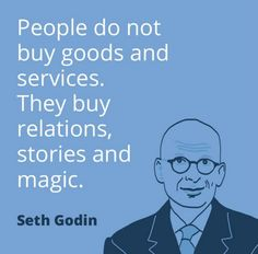 People don't buy products, they buy what that product can do for them, and the feeling they can get from buying it.