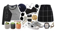 """""""You're perfect"""" by mash-step ❤ liked on Polyvore featuring Acne Studios, Neff, Golden Goose, Ganni, Banana Republic, Shop Succulents, Amber Sceats, Lulu Frost and Marc Jacobs"""
