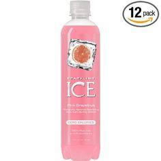 My new favorite drink: Pink Grapefruit - Sparkling ICE Spring Water. Really refreshing. my favorite flavour too! Sparkling Strawberry Lemonade, Sparkling Drinks, Raspberry, Kid Drinks, Juice Drinks, Beverages, Ice Flavored Water, Milkshake Drink, Milkshakes
