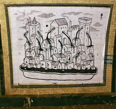 Ufo5 - Italian Street Artist - Shit Art Fair2 - Torino (IT) - 11/2014 - |\*/| #ufo5 #streetart