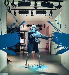 Lanvin's Painting Paris [feeling blue], pinned by Ton van der Veer