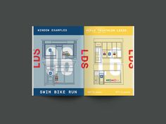 World Triathlon Leeds Print Design