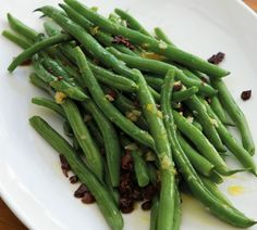 Annabel Langbein Green Beans with Olives and Garlic Recipe Vegetable Sides, Vegetable Recipes, Vegetarian Recipes, Healthy Recipes, Easy Recipes, Veggie Dishes, Create Tv Recipes, Home Recipes, Cooking Recipes