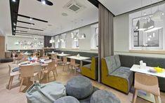 Diez ideas para decorar restaurantes con bancos corridos