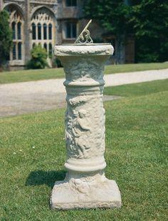 Gentil Renaissance Sundial   Garden Sundial   Stone Sundial
