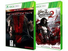 Castlevania: Lords of Shadows 2 + Metal Gear - Solid V: The Phantom Pain Day One Edition Xbox 360 com as melhores condições você encontra no Magazine Jbtekinformatica. Confira!