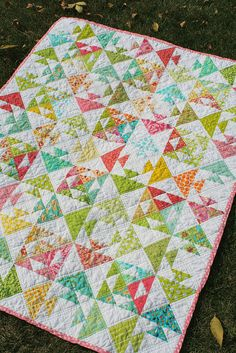 Kissy Fish Baby Quilt by freshlypieced, via Flickr