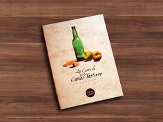 Diseño Imagen Gráfica Carlos Tartiere Restaurante & Sidrería en Madrid...