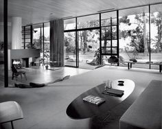"1950  CHARLES EAMES and EERO SAARINEN  Entenza Residence  John Entenza, editor of Arts & Architecture, founded the experimental architectural program that resulted in the famous Case Study Houses built in and around Los Angeles in the 1950s. ""The architects Entenza selected were good, , but they weren't doing anything innovative,"" Shulman"