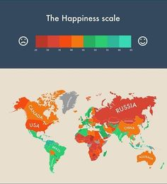 Which are the happiest countries in the world?How #happy are you? #happiness #wellbeing