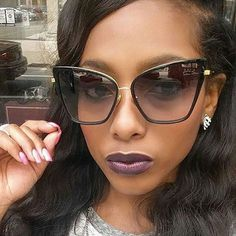 Newest Fashion Women Sunglasses Cat Mirror Glasses Metal Cat Eye Sunglasses Women Brand Designer High Quality Square Style Oculo Retro Sunglasses, Cat Eye Sunglasses, Mirrored Sunglasses, Sunglasses Women, Celebrity Sunglasses, Trending Sunglasses, Cat Eyes, Womens Glasses, Face Shapes