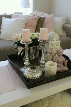 Serene living decor