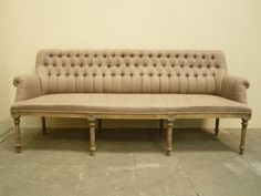 Buttoned Dining Bench