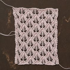 Joni is taking you to the finish line with Pattern #5 in her series on two-sided lace grafting - take a look at this week's lesson!
