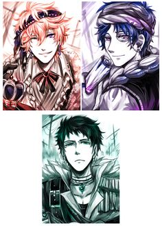 Free! ES ~~ Pirate Kings compilation :: [ Art by Evil-usagi.devian... on @deviantART ]
