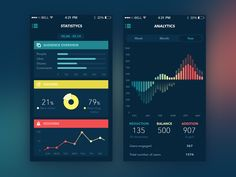 Analytics App by Ludmila Shevchenko
