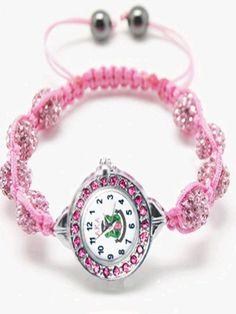 AKA Soror Shamballa Bracelet Watch