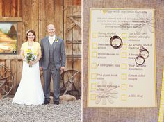 The little camera scavenger hunt is a brilliant idea!! ♥ will be using it for my wedding