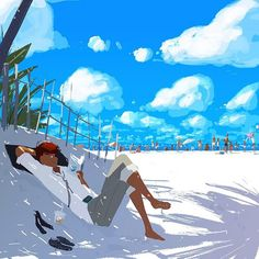 Life's a beach (part 1). April 2015.   #California #californialiving #pascalcampion #pascalcampionart #beachday #summervacation