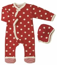 Red neutral baby clothes