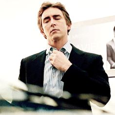 """Lee Pace as Joe MacMillan in Halt and Catch Fire, Season 1."" — Oh goodness, I love when he unbuttons his shirt collars. And with one hand, too. Aren't we fancy? ;)"