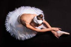 Odette headpiece Swan Lake Ballet Swan headdress feathers