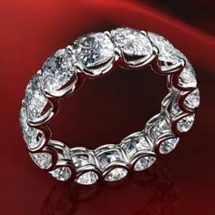u shape diamond wedding bands | bands judy luxurious u prong diamond eternity band judy luxurious u ...