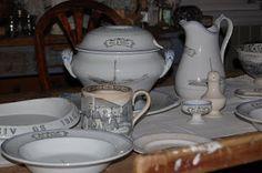 En side for alle samlere av Egersund fajanse. Sugar Bowl, Bowl Set