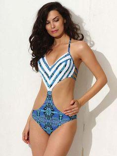 ff87dd26e0d45 Santorini One Piece Monokini - Jolidon Swimwear