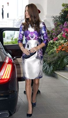 Kate Middleton Photo - Will and Kate at a State Reception in Singapore