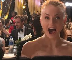 'Game Of Thrones' Star Sophie Turner Gushes Over Ryan Gosling - http://www.movienewsguide.com/game-thrones-star-sophie-turner-gushes-ryan-gosling/153136