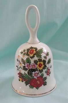 Vintage China Bell by DelicateCreations on Etsy, $12.99