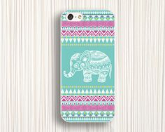 elephant iphone caseIPhone 5s caseblue pinkIPhone 5c by Emmajins, $9.99