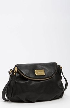 I rarely splurge on a nice handbag, but I loved this classic black  from Marc by Marc Jacobs. It's the only one I carry now!