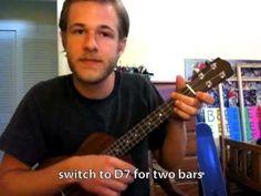 ▶ Ukulele Lesson: How to Play the 12-Bar Blues - YouTube