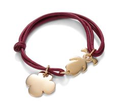 What about a composed bracelet? Girl and boy models, with an additional pendant to complete the bracelet! #lilou #bracelet #girl #clover #present #string #red #gift